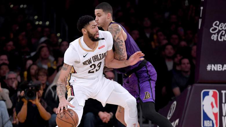 New Orleans Pelicans vs Los Angeles Lakers
