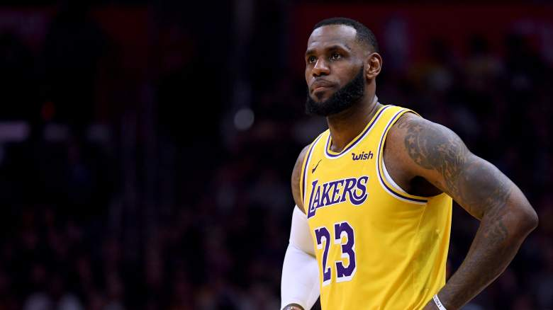 LeBron James Lakers Luke Walton