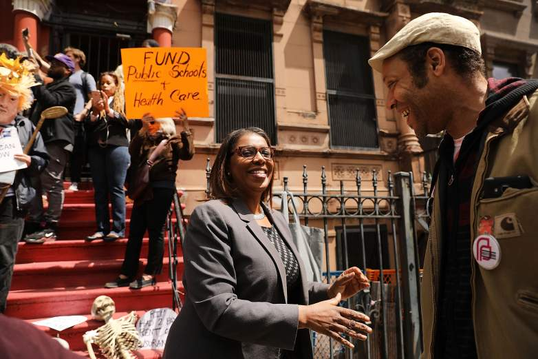 Letitia James Protests