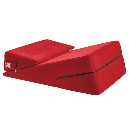 Red Liberator ramp with wedge