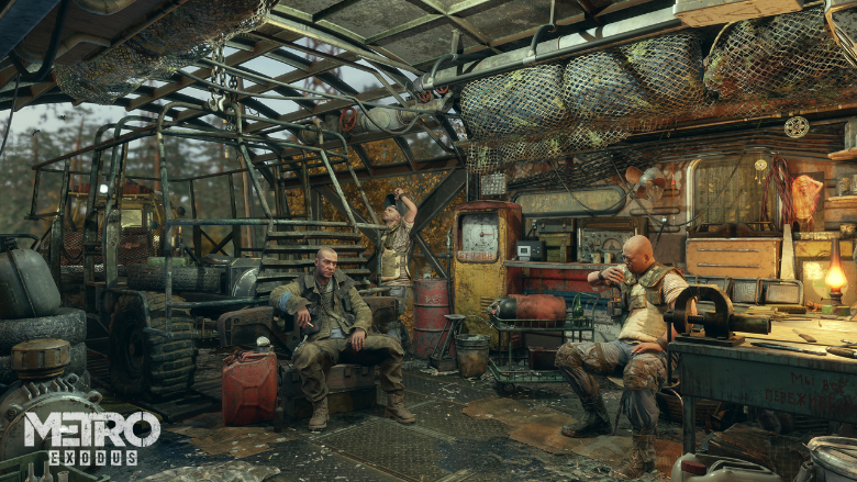 Metro Exodus Upgrade Weapons