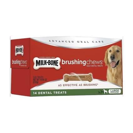 Milk-Bone brushing chews dog dental chews