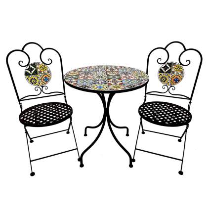 moroccan style bistro set