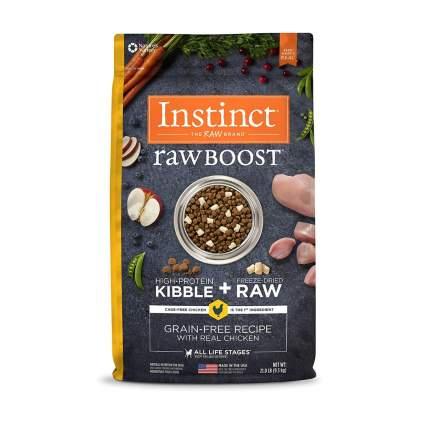 Nature's Variety instinct grain free dry dog food
