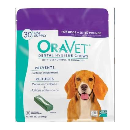 OraVet dog dental chews