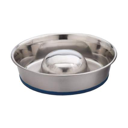 OurPets slow feeder dog bowl