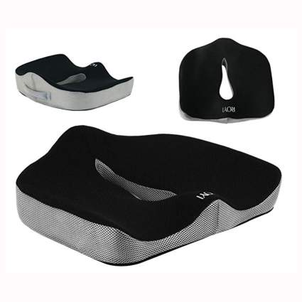pain relieving memory foam seat cushion