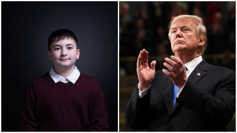 Joshua Trump and Donald Trump