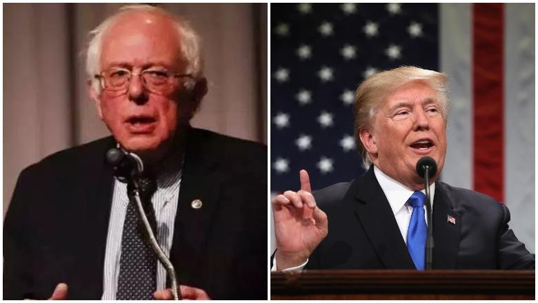 Bernie vs Trump