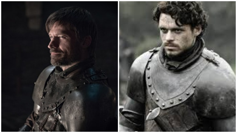 Jamie vs. Robb's Armor