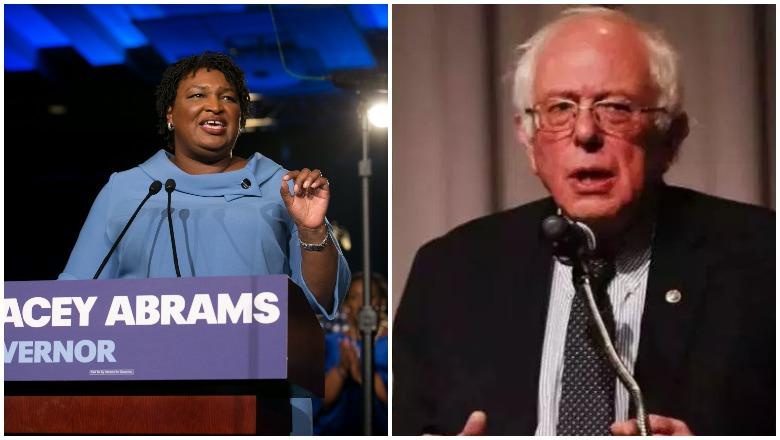 Stacey Abrams vs. Bernie Sanders