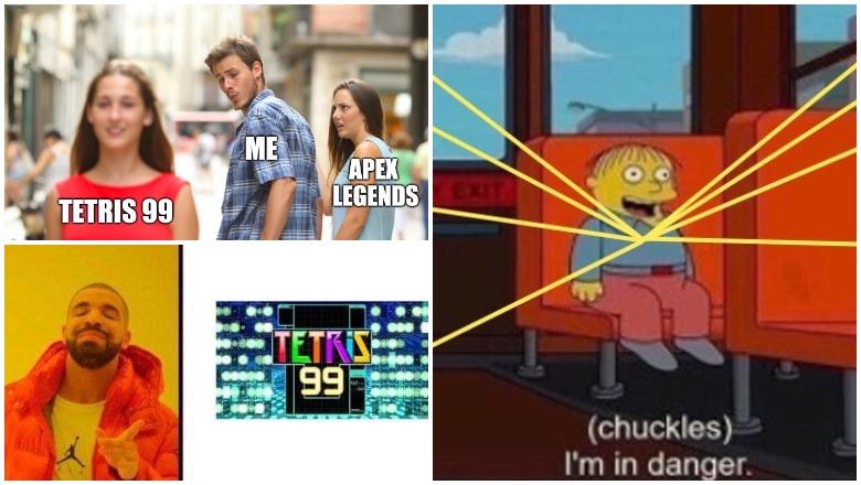 Tetris 99 Memes