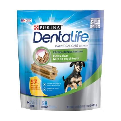 Purina dentalife chews dog dental chews
