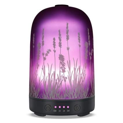 Purple lavender diffuser