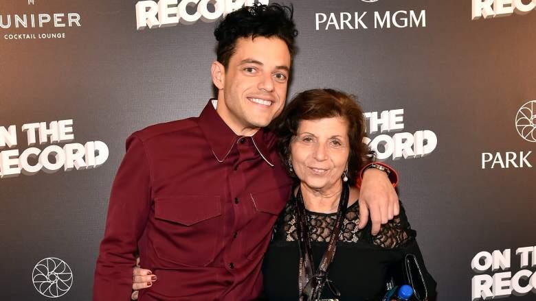 Rami Malek mom, Rami Malek family
