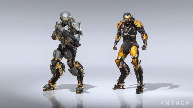 Anthem Javelins Types Playstyles More Heavy Com