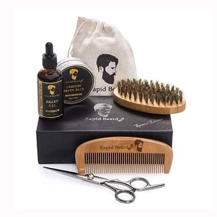 men's beard grooming and trim kit