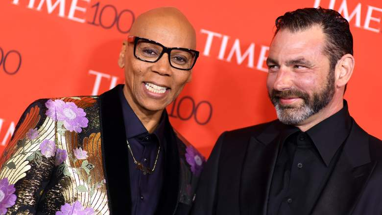 RuPaul and Georges Lebar
