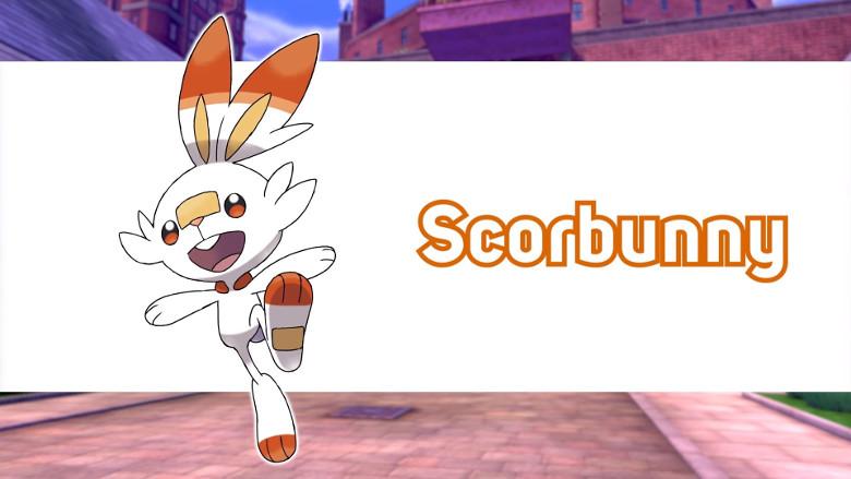 Scorbunny Pokemon Sword and Shield