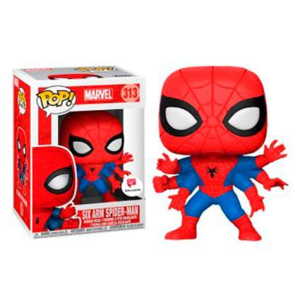 six arm spider-man funko