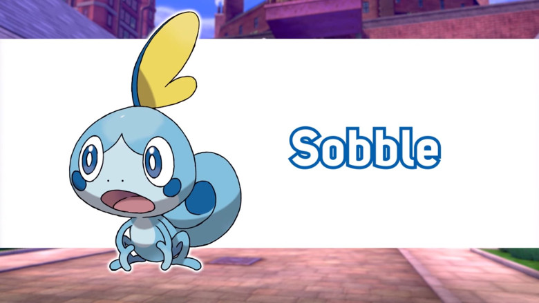 Sobble Pokemon Sword and Shield