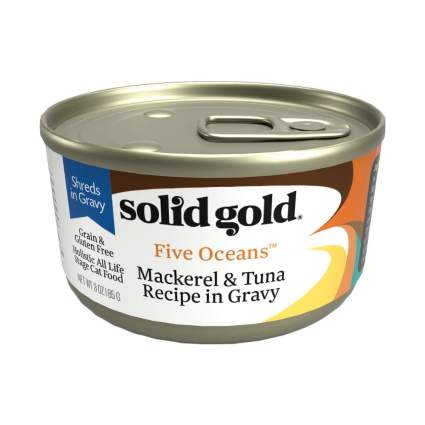 solid gold wet cat food