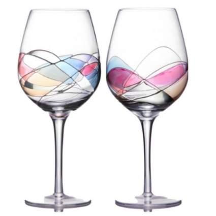sonoma artisan wine glasses