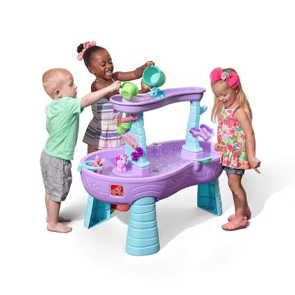 step2 unicorn water table