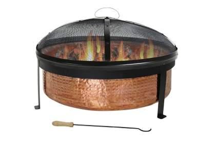 sunnydaze copper firepit