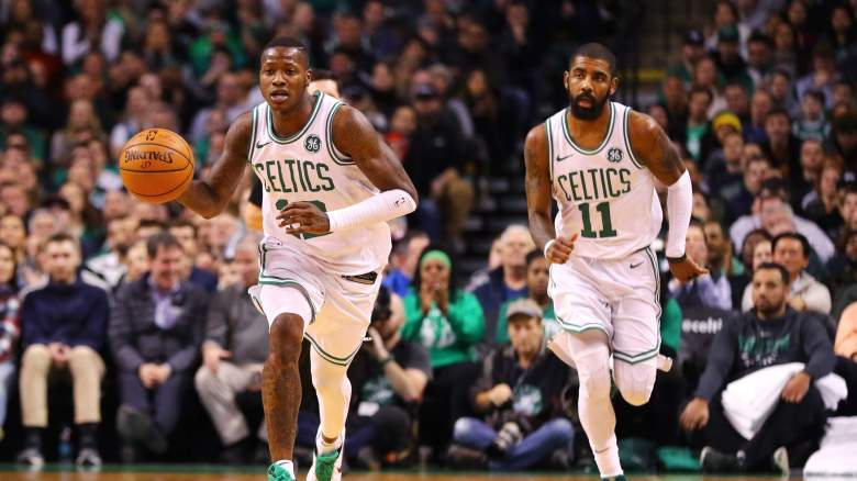 Kyrie Irving Terry Rozier