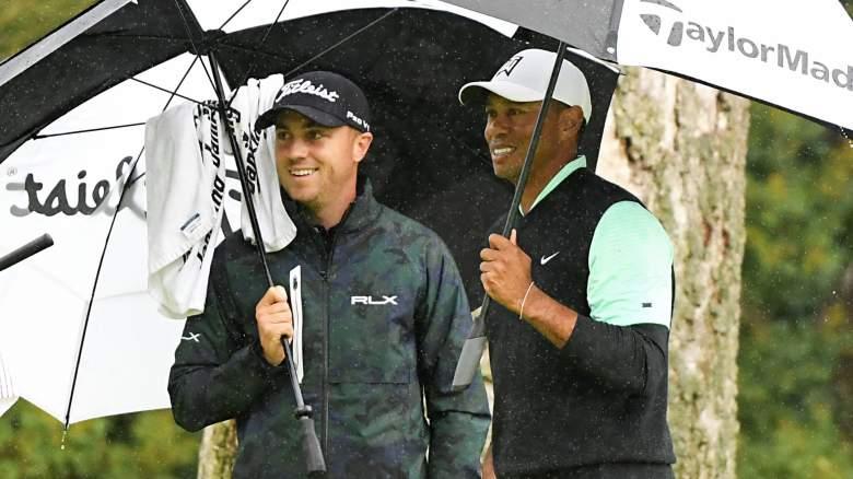Justin Thomas, Tiger Woods