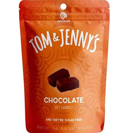 tom and jennys soft chocolate caramels
