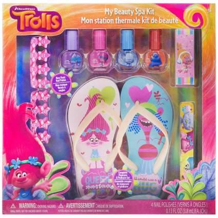 trolls my beauty spa set