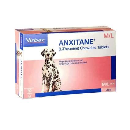 Virbac Anxitane Tablets dog anxiety medication