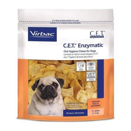 Virbac c.e.t enzymatic dog dental chews