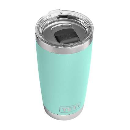 Light teal Yeti mug