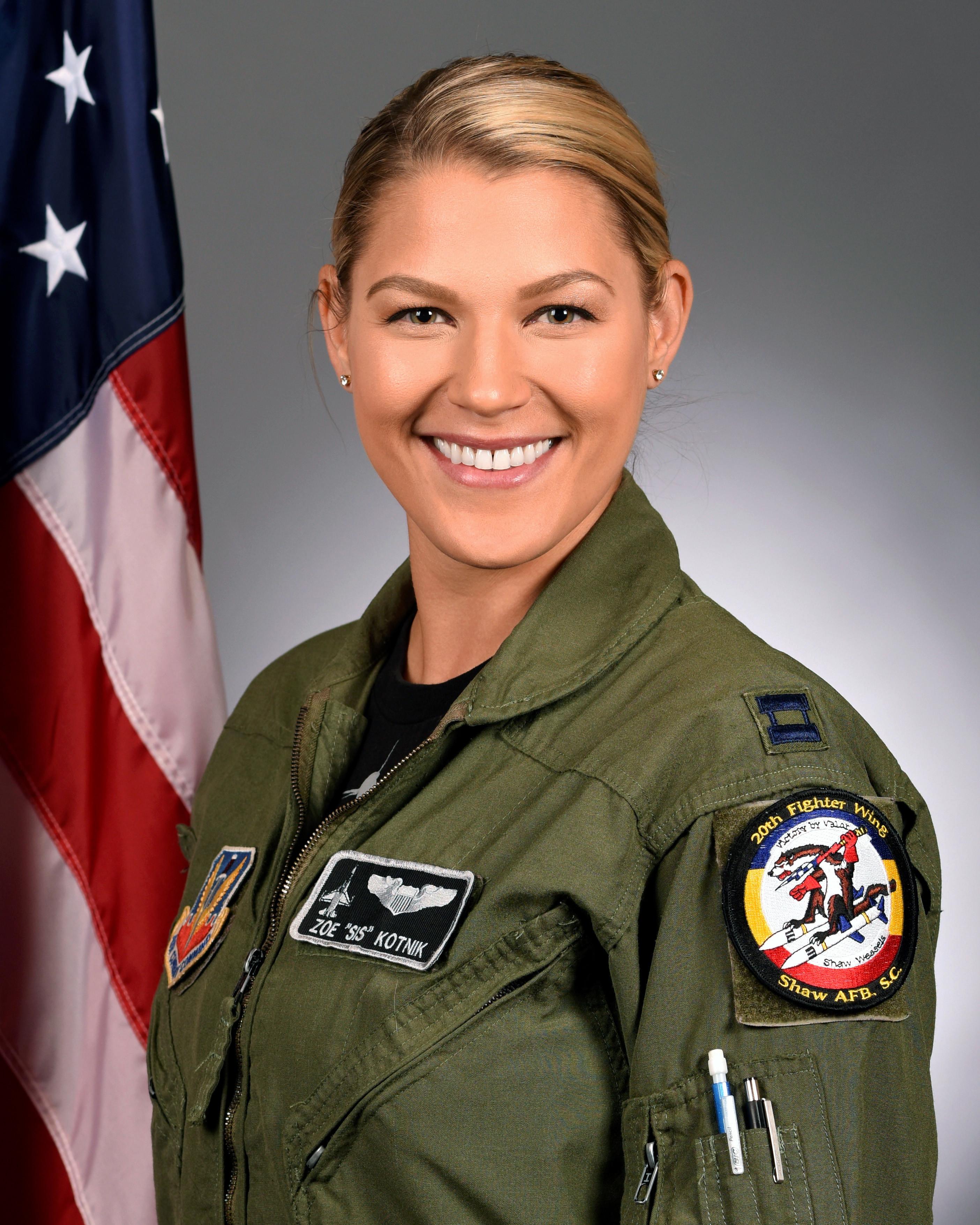 Zoe Kotnik Air Force