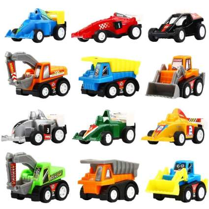 12 Mini Assorted Vehicles