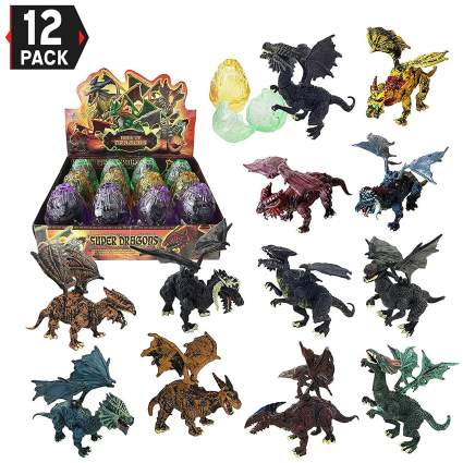 12 pack dragon toys