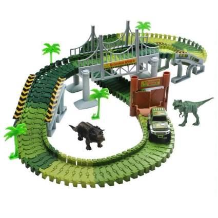 142 Piece Dinosaur Race Track