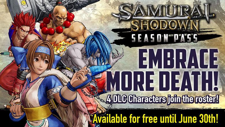 Samurai Shodown 2019 Season 1 DLC