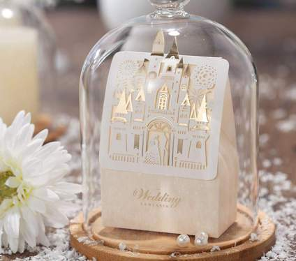 Laser Cut Wedding Favor Boxes