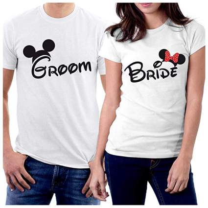 Groom & Bride MM Couple T-Shirts