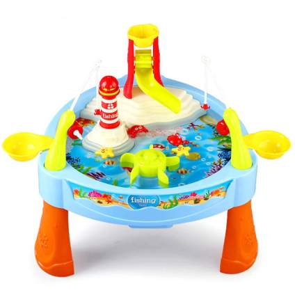 Babyrise Kids Toddlers Puzzle Fishing Game Water Table