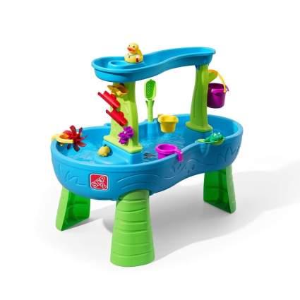 Step2 874600 Rain Showers Splash Pond Water Table Playset