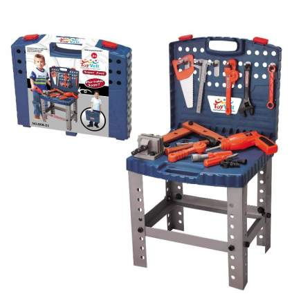 68 Piece Workbench with Realistic Tools