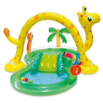 Summer Waves Inflatable Jungle Animal Kiddie Pool