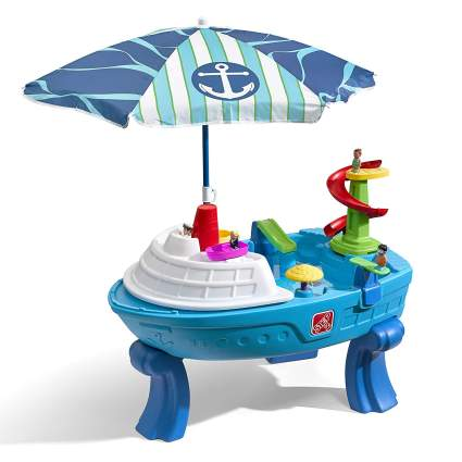 Fiesta Cruise Sand & Water Table with Umbrella Play