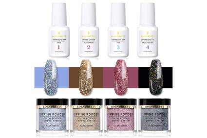 Born Pretty holographic nail dipping powder