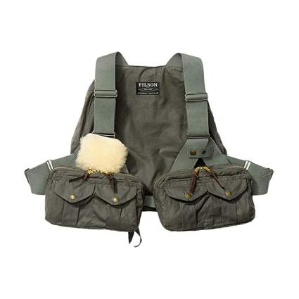 Filson Cover Cloth Fly Fishing Vest